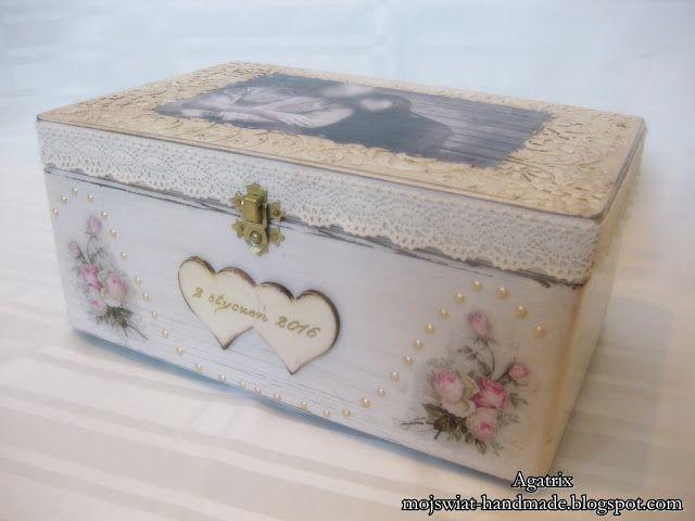 Mój świat - HANDMADE: Pudełko ze zdjęciem