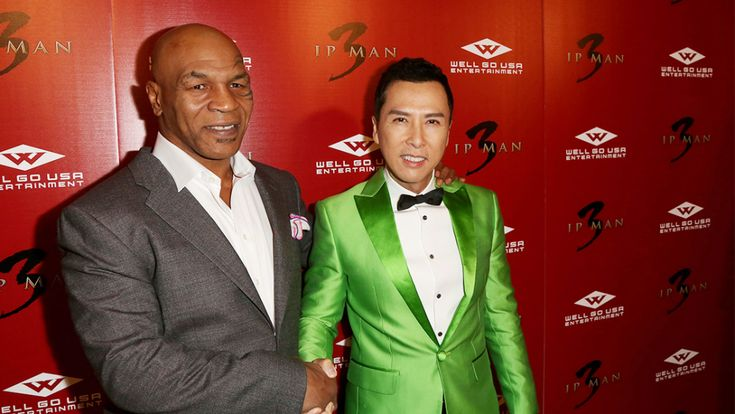 'Ip Man 3' Premieres with Donnie Yen and Mike Tyson – Variety
