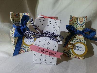 Bastelsteffi: Kleine Goodie-Tütchen; Goodies; Stampin up; Envelope Punch Board