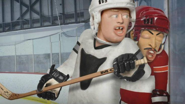 tête a claque hockey
