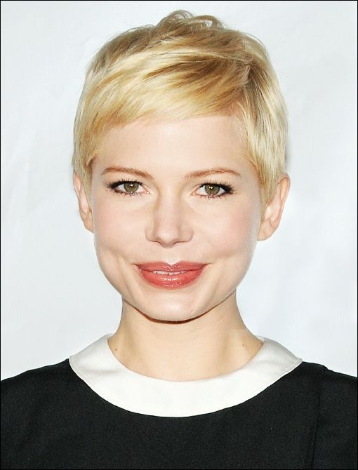 TOP CELEBRITY HAIRSTYLES:  Pixie Cut Michelle Williams