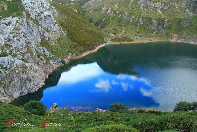 Озера Салиенсия на севере Астурии
