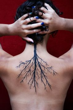 tree roots tattoos - Google Search                                                                                                                                                     More