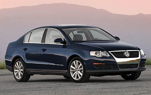 VW Passat 2007 - 2011  A great car that was spacious and handled superbly for a car with a long wheel base. The only disappointment was the power and trim which could have been better. This was down to choosing the base model due to a restrictive company car policy.