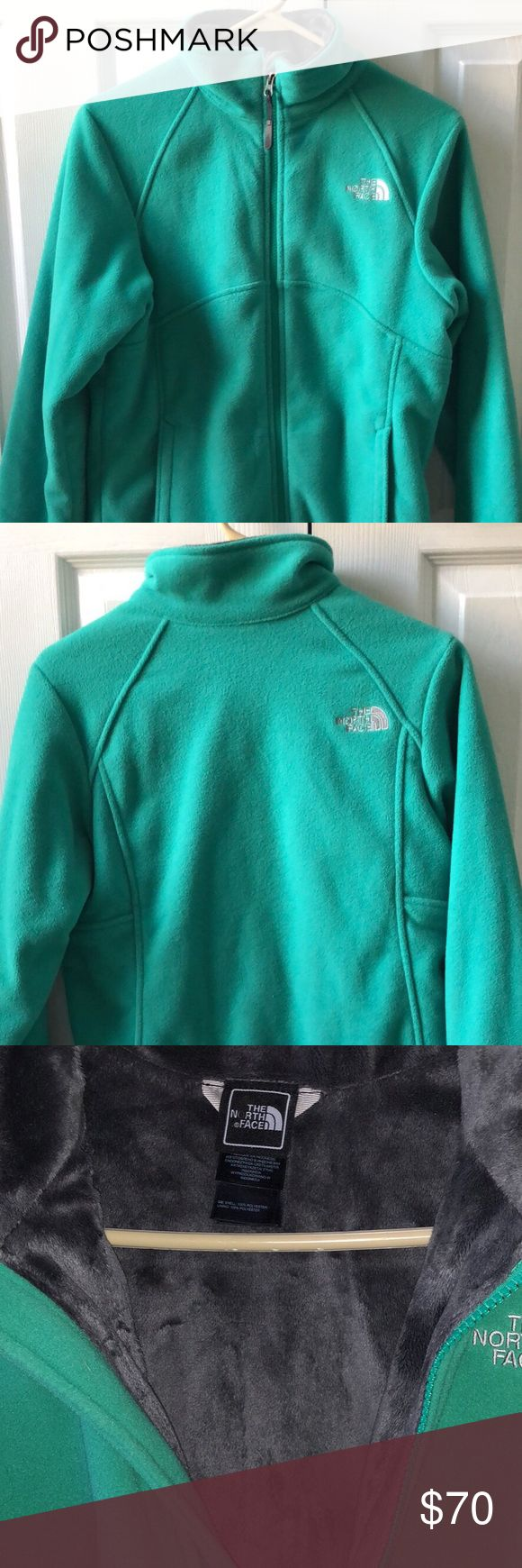 Girls North Face Jacket Like new, barely worn. Super soft inside gray fur! I wear a women's small and fit comfortably in this. North Face Jackets & Coats