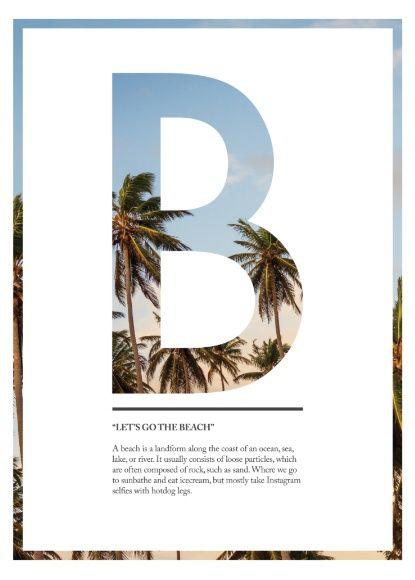 Let's go to the beach Art Print by Simon Granath                                                                                                                                                                                 Mais