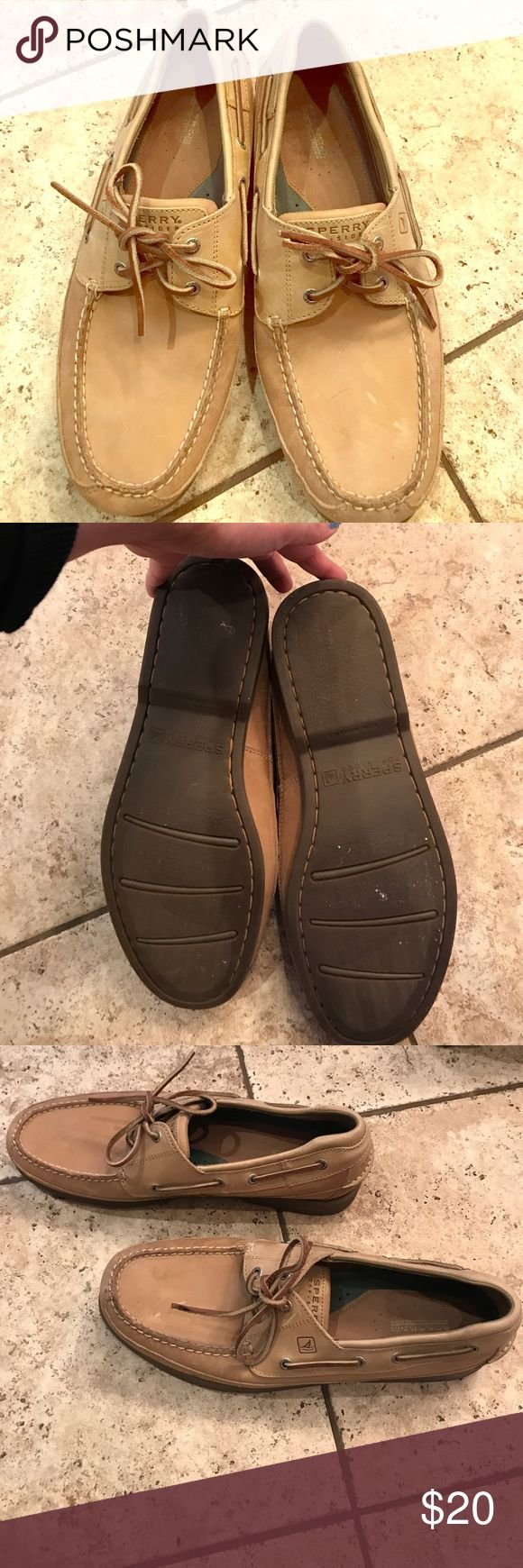 Men's Size 13 Sperry Topsiders Practically new Men's Sperry Topsiders. My husband only wore them once or twice. These are close to perfect condition. Sperry Top-Sider Shoes Flats & Loafers