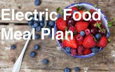 Electric food meal plan made from Dr. Sebi's nutritional food guide. Vegan, Gluten-Free, Plantbased, electric food.