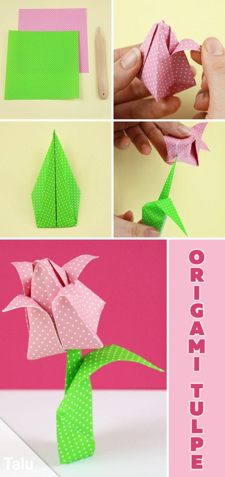 die besten 25 origami tulpe ideen auf pinterest origami. Black Bedroom Furniture Sets. Home Design Ideas