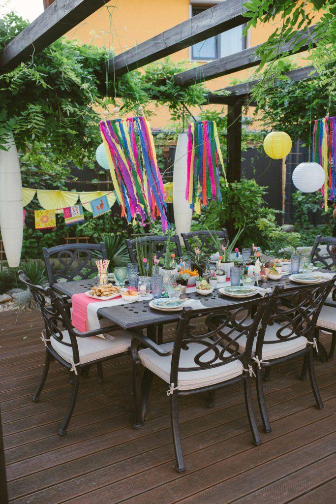 Knallfarben und ein Lama – Fiesta Gartenparty – Fräulein K. Sagt Ja Hochzeitsblog