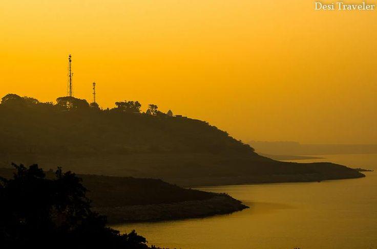 Sunrise at Nagarjuna Sagar Dam
