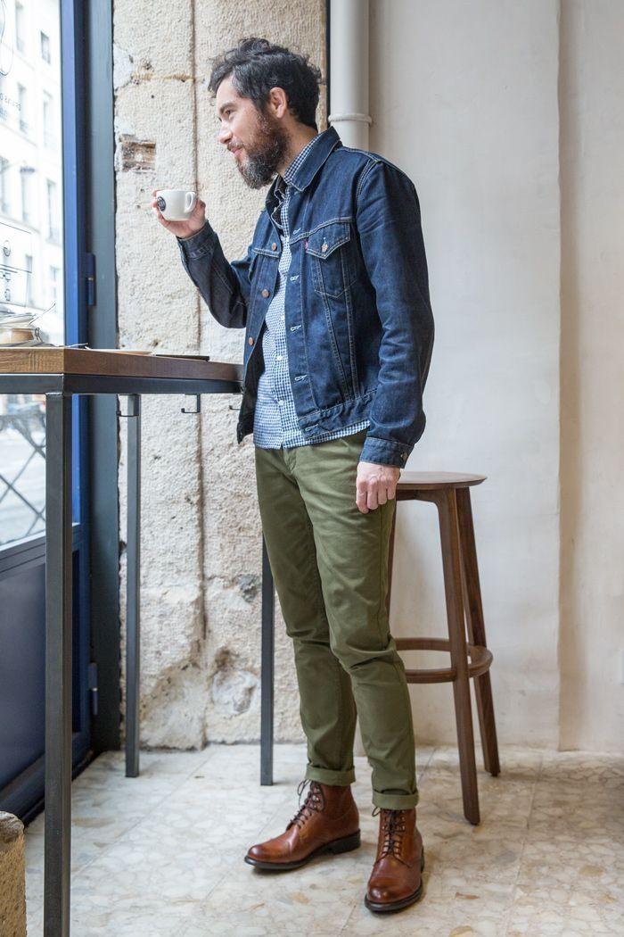 Fashionable Rugged Mens Fashion Ideas