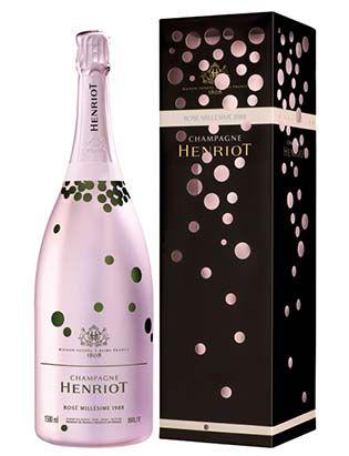 champagne-henriot-trilogie-artistique-des-roses-millesimes. #HappyNewYear #packaging PD