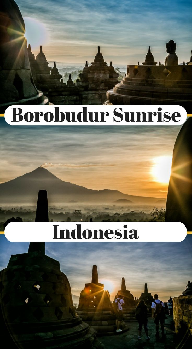 Borobudur Sunrise, Everything You Need To Know. Touted at the most visited site in Indonesia by locals and foreign tourists alike, Borobudur temple is a solid centerpiece to any Indonesia itinerary. This is so much the case that I have been to Indonesia twice now and both times I have made a visit to Borobudur temple, once for a Borobudur sunset and once for a Borobudur sunrise. Click to read more http://www.divergenttravelers.com/borobudur-sunrise/