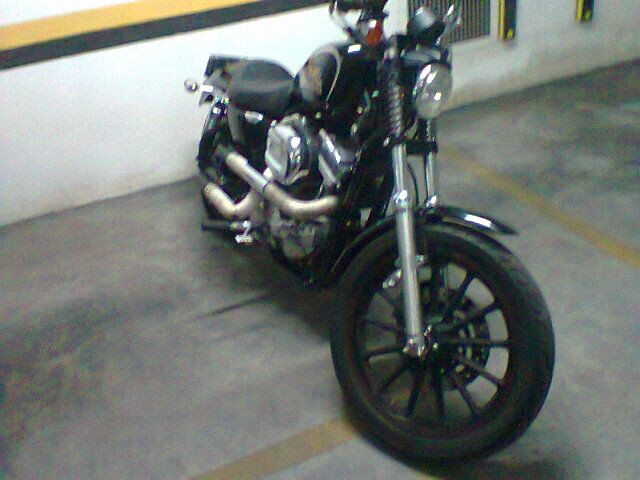 Harley Sportster 883 - outubro 2012