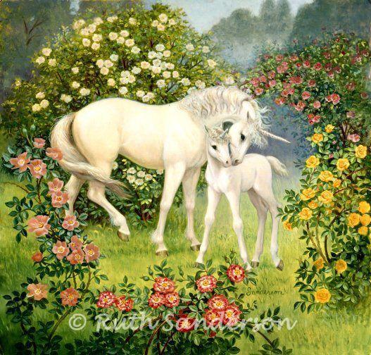 FUN406_Unicorn-Mare-and-Foal.jpg (527×504)