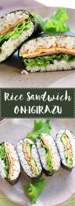 BLT Rice Sandwich-Onigirazu | WATCH for more ideas: https://www.youtube.com/watch?v=5kEd3vDtKNw