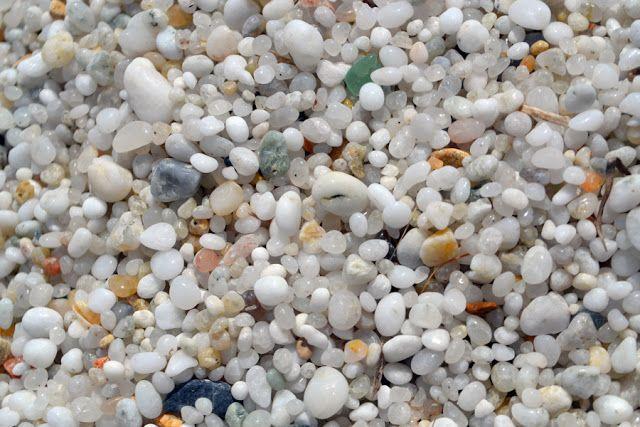 quartz sand. sardegna beach.