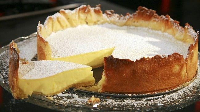 Sitronterte a la Marco Pierre White - Lemon tart