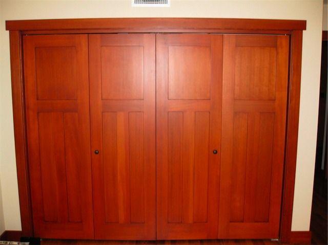 Interior Closet Doors Cape Cod Craftsman House Interior Closet