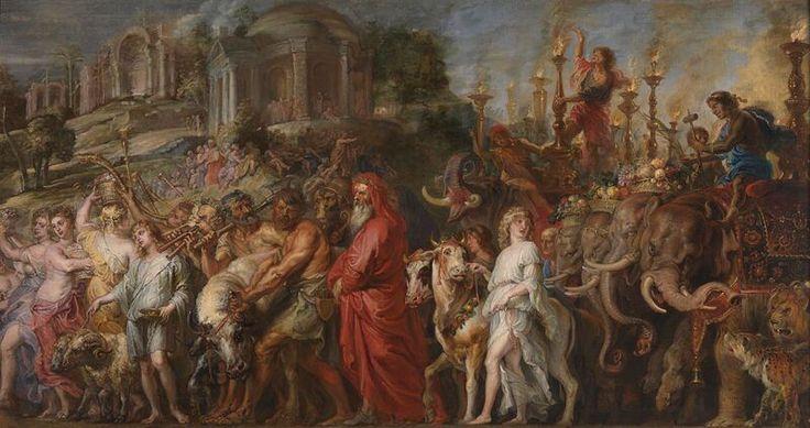 Peter Paul Rubens - A Roman Triumph
