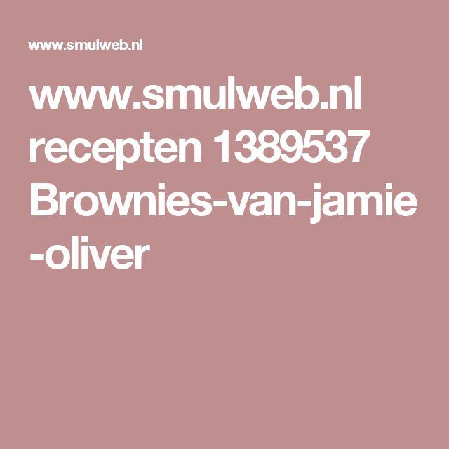 www.smulweb.nl recepten 1389537 Brownies-van-jamie-oliver