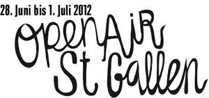 Open Air St. Gallen 2013 in St. Gallen, Switzerland