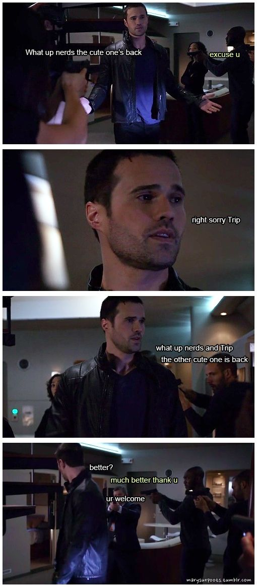 Grant Ward puts friends first || Grant Ward, Antoine Triplett || Agents of Frickle Frackle || #humor #fanedit