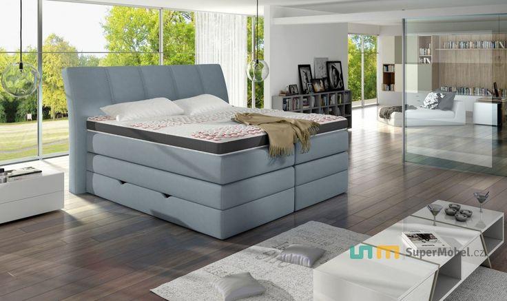 Luxusní postel KORFU