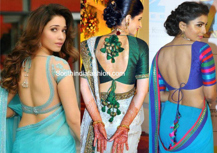 stylish_back_neck_saree_blouse.jpg (861×608)
