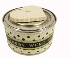 Scented candle decorative Tin with Heart - Another Gorgeous Day