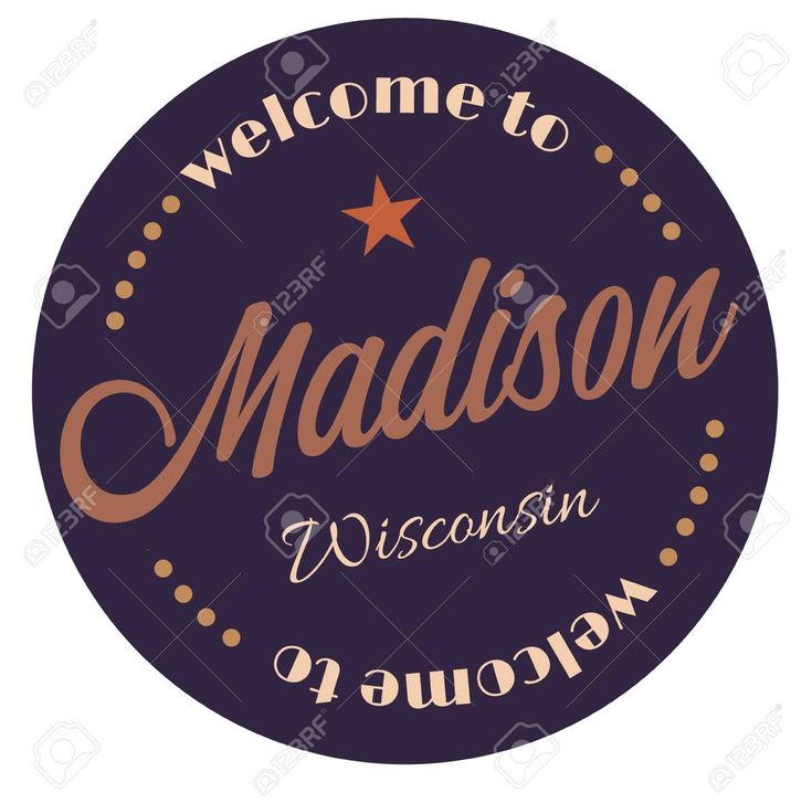 Welcome To Madison Wisconsin Tourism Badge Or Label Sticker Isolated On White Vacation Retail Product For In 2020 Wisconsin Tourism Sticker Labels Madison Wisconsin