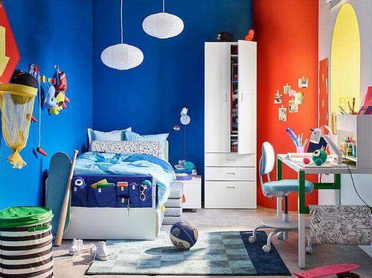 Детская комната интерьер икеа: фото-подборка