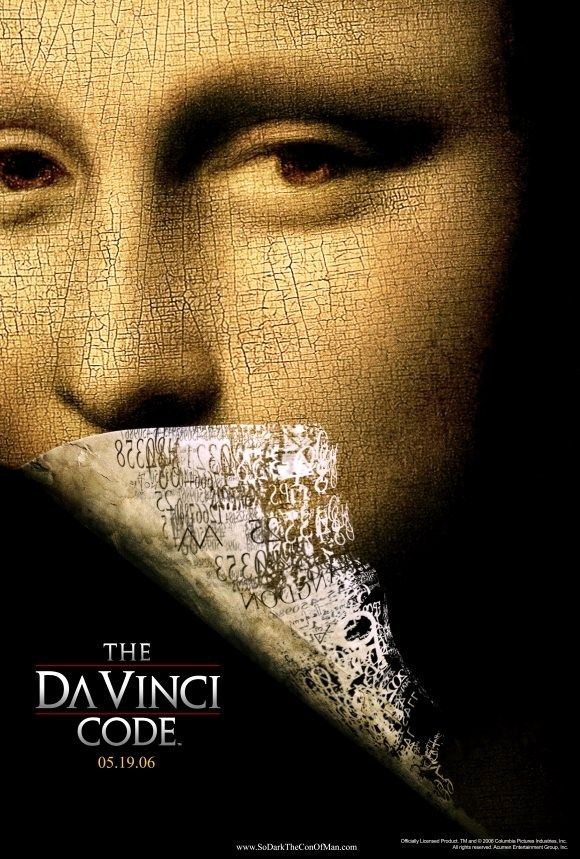 """The Da Vinci Code"" - This film gets a lot of hate, but it is actually quite entertaining as a thriller."