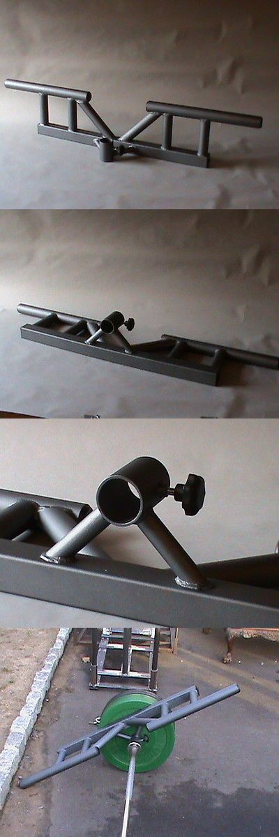 Home Gym Attachments 179813: Five Positiont-Bar Rowing Handle (Massive Fat Grips!!!) -> BUY IT NOW ONLY: $229.99 on eBay!