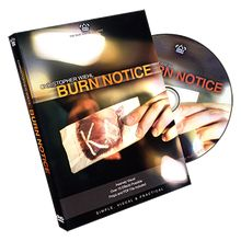 Burn Notice by Chris Wiehl and The Blue Crown - DVD