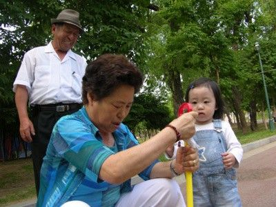 꿈틀이와 할머니_01 - 홍순석 싸이홈