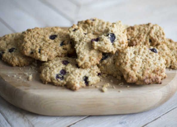 Crisp on the outside, soft and fruity in the centre, these all-in-one cookies are so moreish you won't be able to resist them