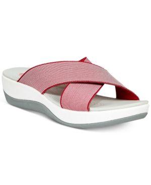 35ae9276e4e6 CLARKS COLLECTION WOMEN S CLOUD STEPPERS ARLA ELIN SANDALS WOMEN S SHOES.   clarks  shoes