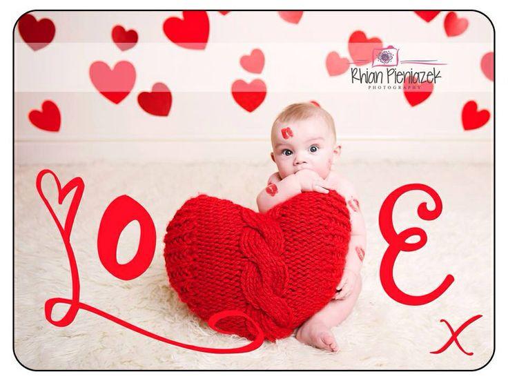 Valentine Baby. Rhian Pieniazek Photography 2014.