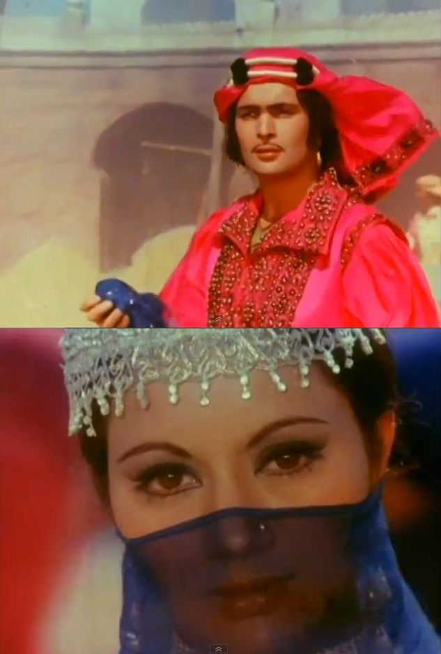 Laila Majnu  1979 -Rishi Kapoor, Ranjeeta Kaur