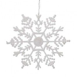 Part of our Festive Frost Christmas theme, these are lovely decorations for your tree. 12 pack.