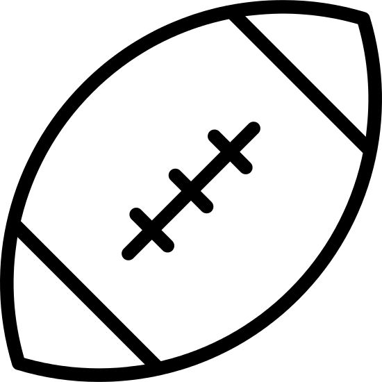 football outline - Yahoo Image Search Results   Football outline, Outline, Football