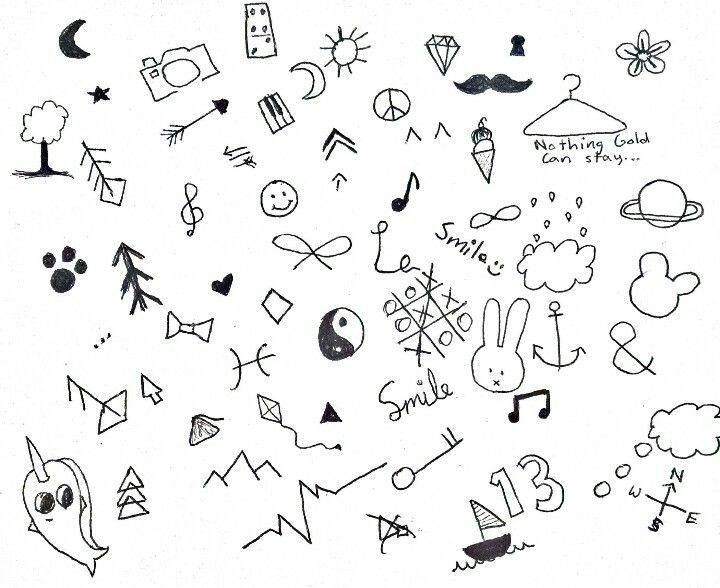 Stick and poke tattoo ideas- defiantly not going to do a stick and poke but i will draw them on with pen since its summer vacation