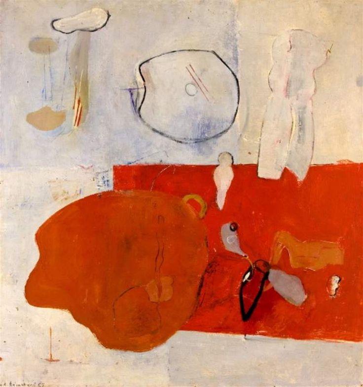 """Czech artist Adriena Šimotová: Červnový den (1965) """"June Day"""""""