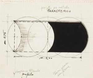 Francesco Lo Savio - Progetto Per Metallo Parasferico