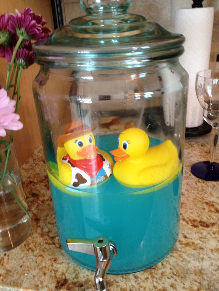 Baby Shower punch! I fear that punch tastes terrible, but I could tweak it. Super cute!