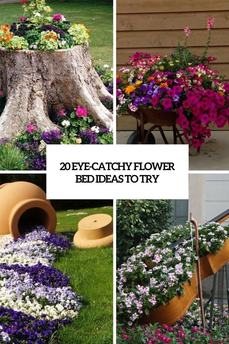 eye catchy flower bed ideas to try cover