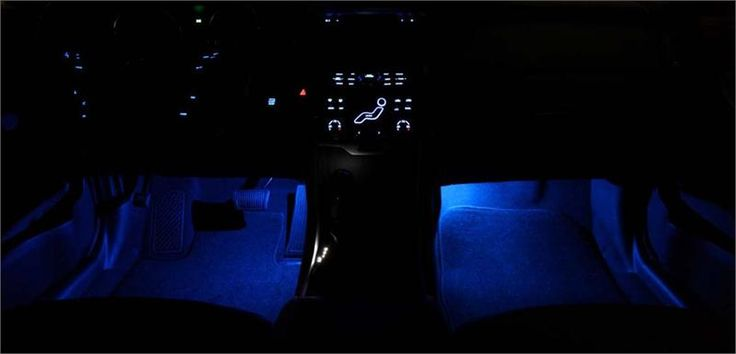 This is the Genuine OEM 2011-2014 Hyundai Sonata Interior Lighting Kit (J065)! This decorative, ambient lighting system simulates an aircraft cockpit look and feel with the blue LED lighting. On/off switch.