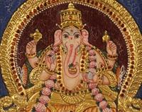 Tanjore Painting – Ganesh